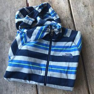 The North Face Boys Fleece Full Zip Jacket 10/12 M
